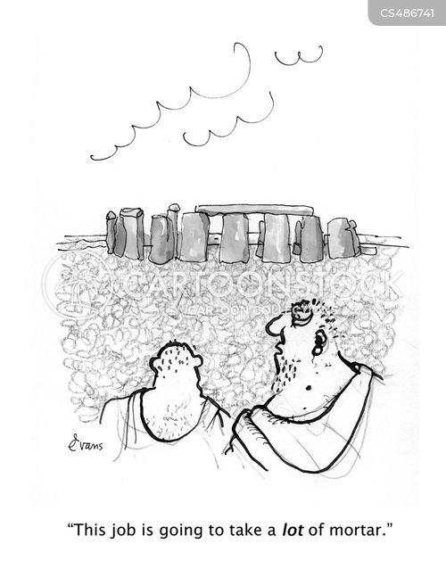 mortar cartoon