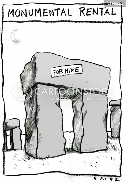 rental service cartoon