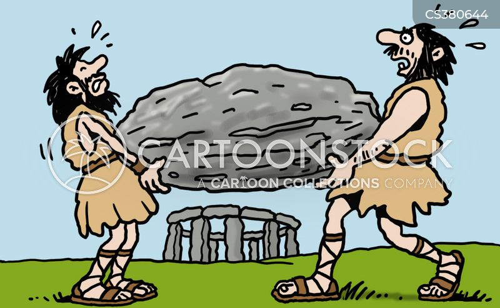 ancient man cartoon
