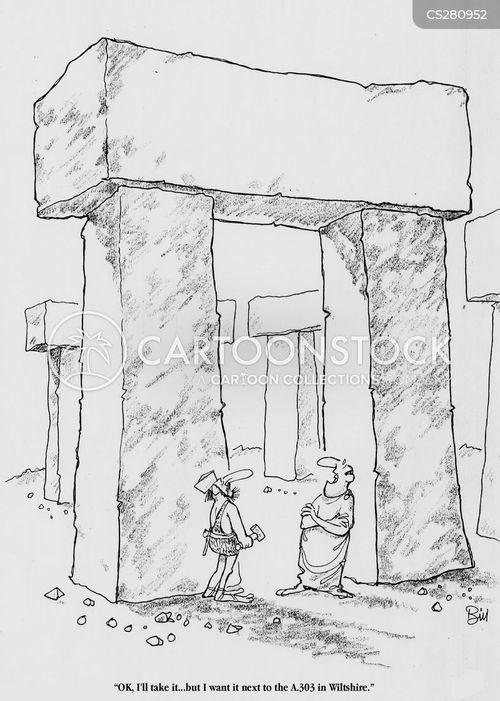 monolithic cartoon