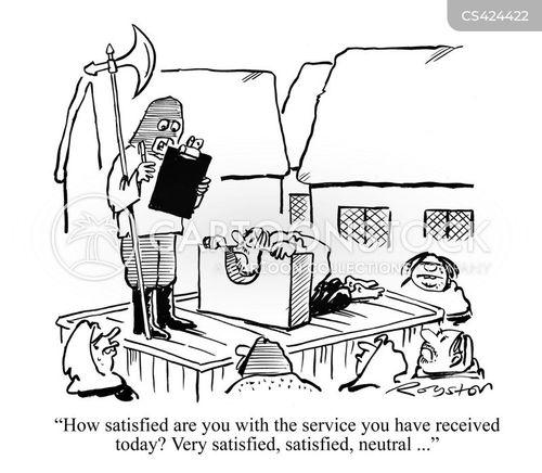feedback forms cartoon
