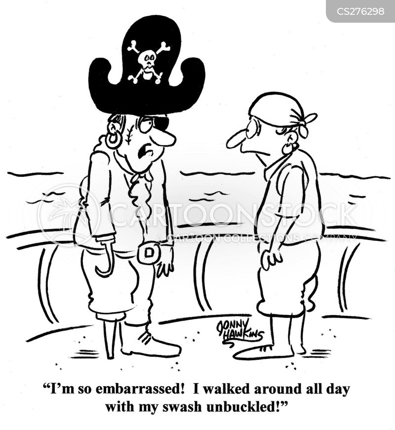 swashbuckling cartoon