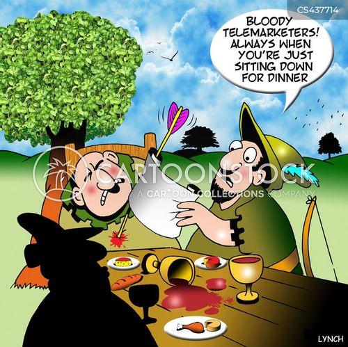 sherwood forest cartoon
