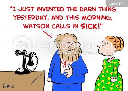 watson cartoon