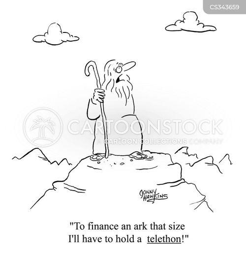 the old testament cartoon