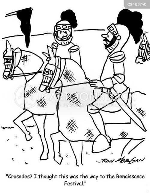 renaissance festival cartoon