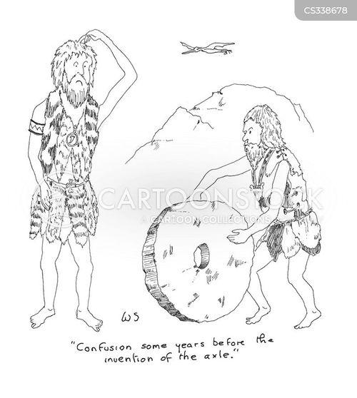 the wheel cartoon