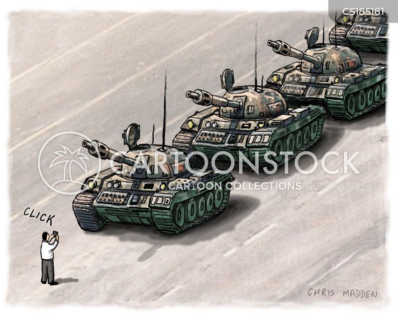authoritarian cartoon