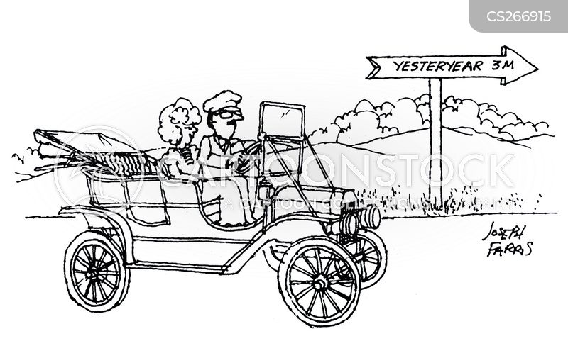 motor car cartoon