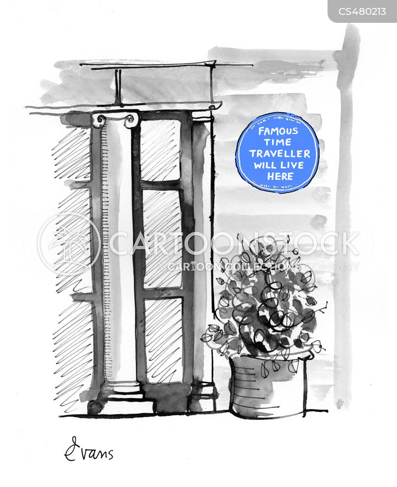historic sites cartoon