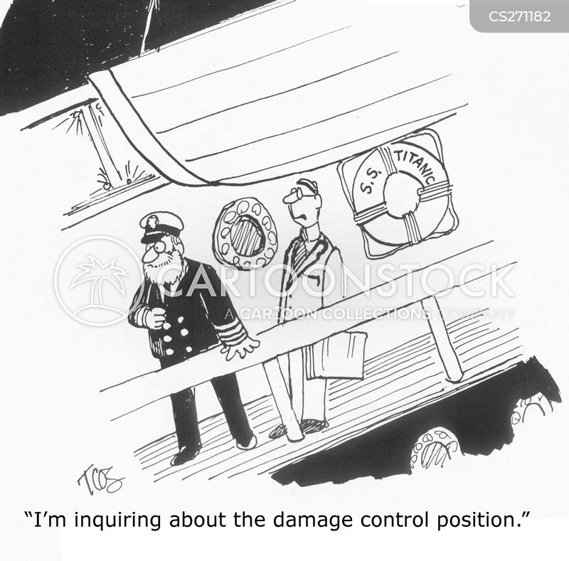 damage control cartoon