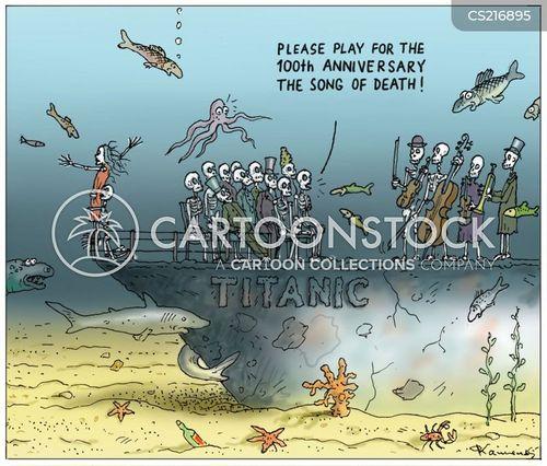 maritime disasters cartoon