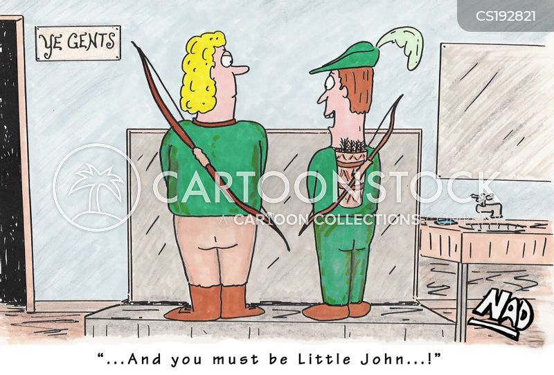little john cartoon
