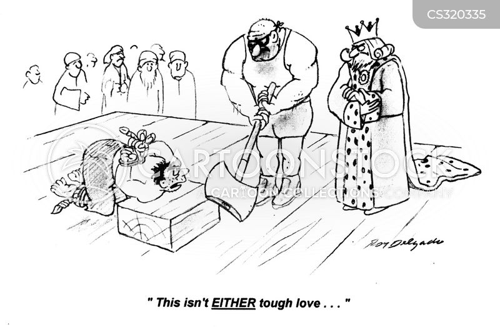 tough love cartoon