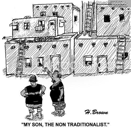 traditionalists cartoon