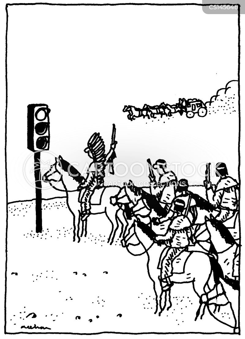 stagecoach cartoon