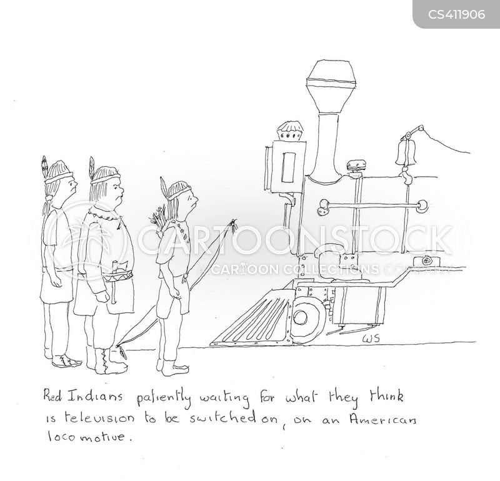 locomotive cartoon