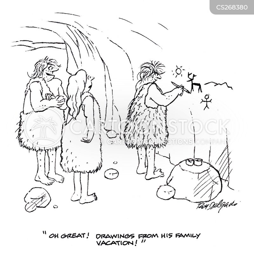 drew cartoon