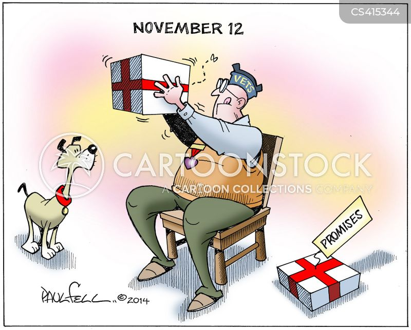 old soldiers cartoon