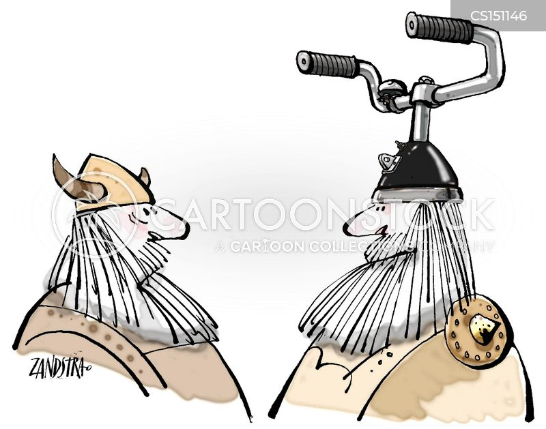 nordic cartoon