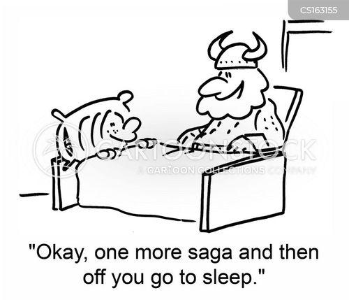 saga cartoon