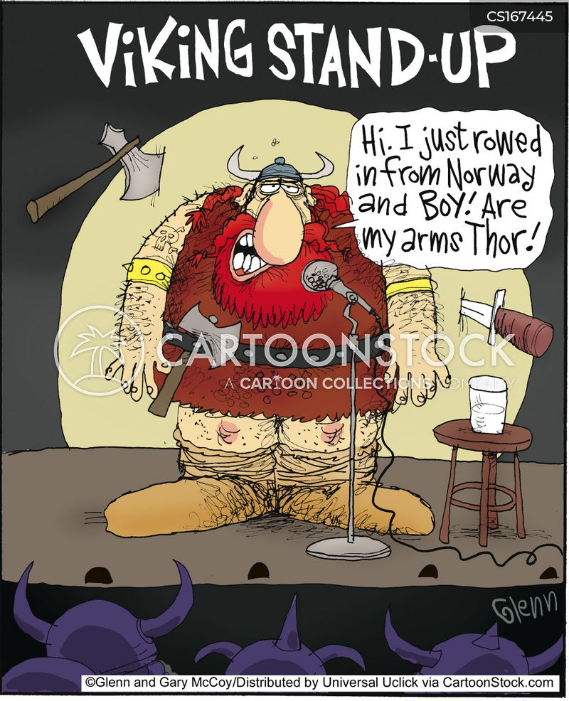 vikings cartoon