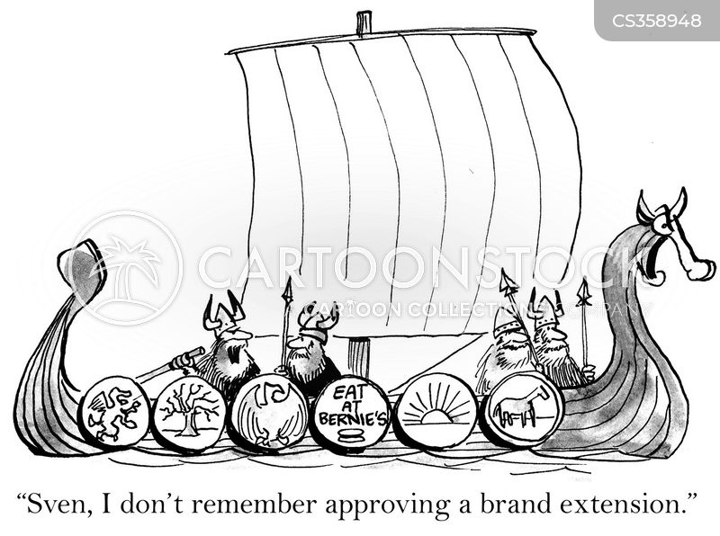 viking boat cartoon