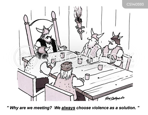solved cartoon