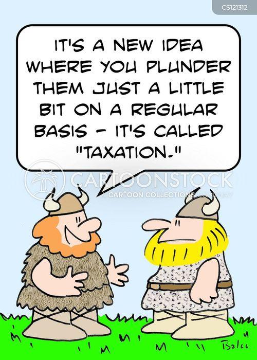 viking attack cartoon