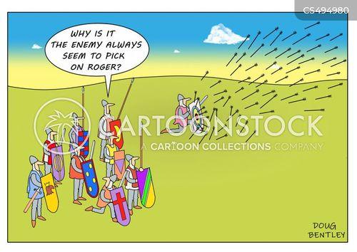 easy target cartoon