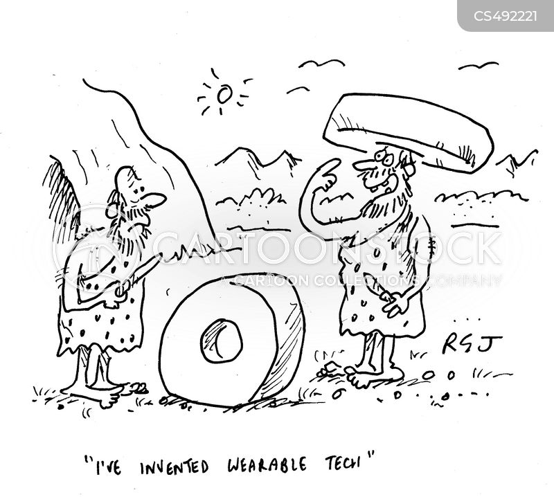 wearable techs cartoon