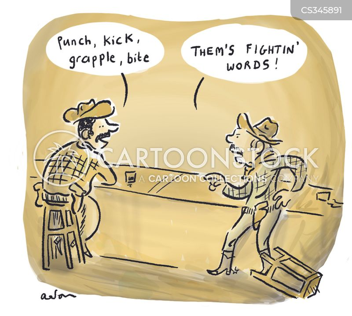 grapple cartoon