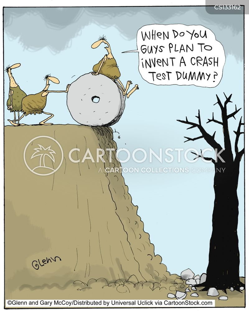 crash test dummy cartoon