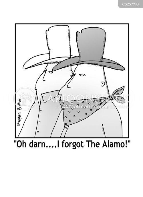 alamo cartoon