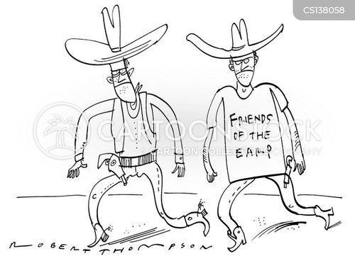 wyatt earp cartoon