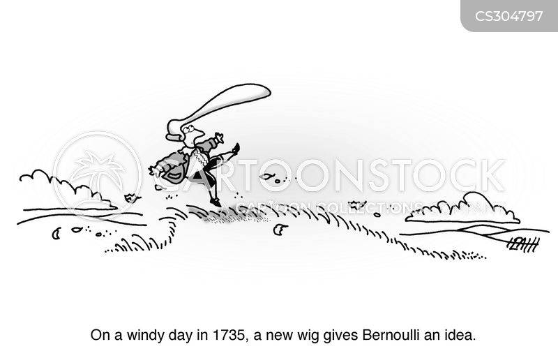 high wind cartoon