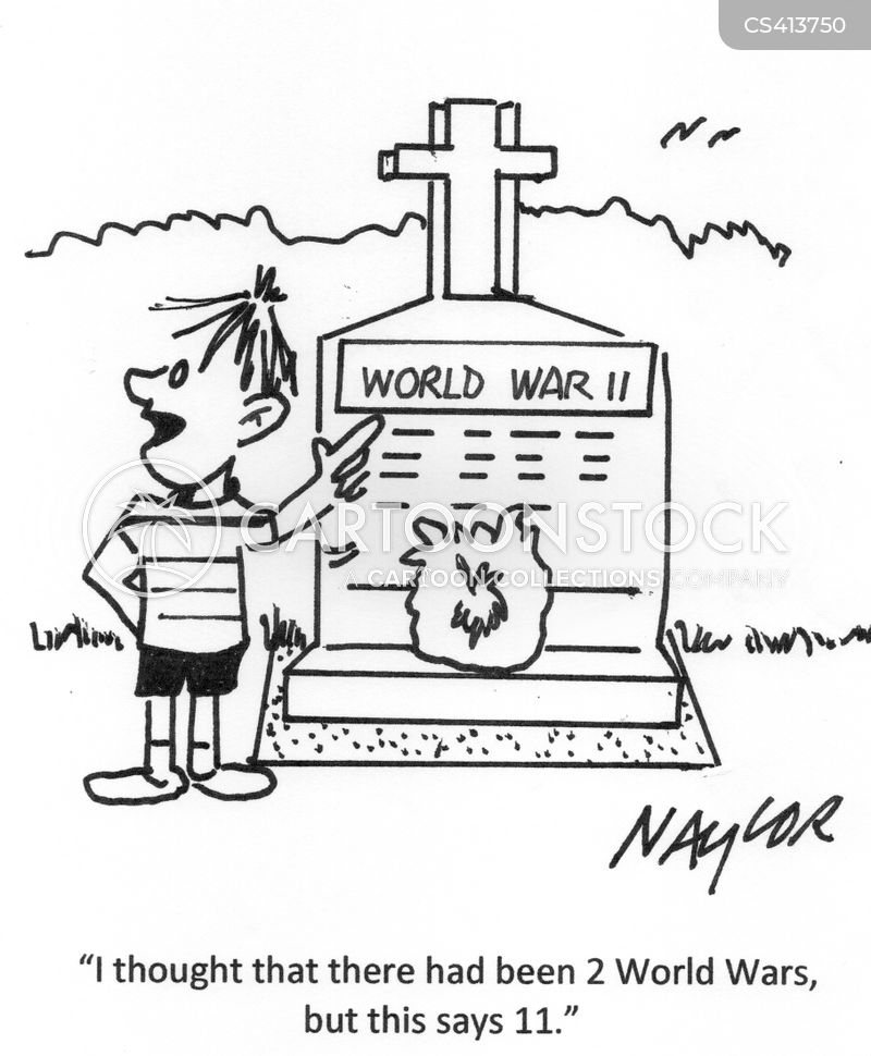 world war cartoon