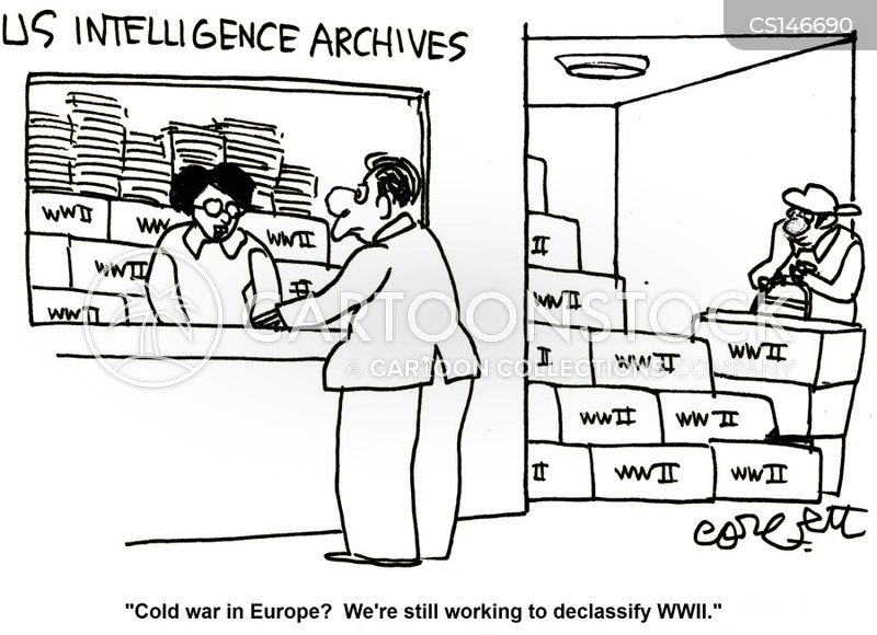 archive cartoon
