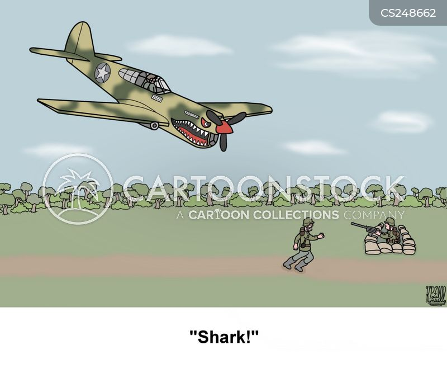 military strike cartoon
