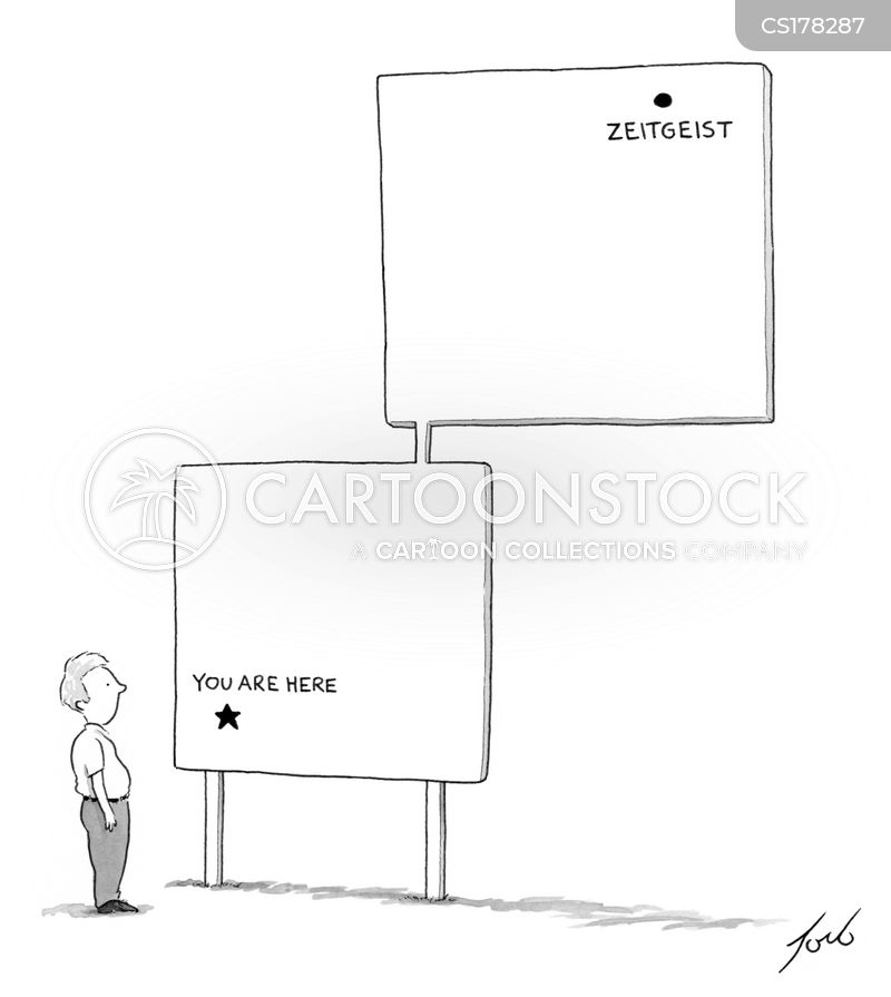 you are here cartoon