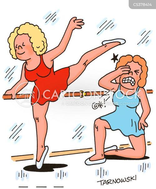 dance lesson cartoon