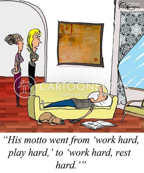 play hard cartoon