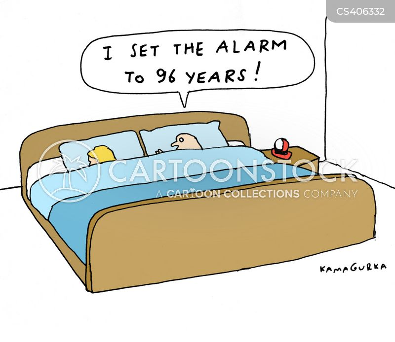 lie-in cartoon