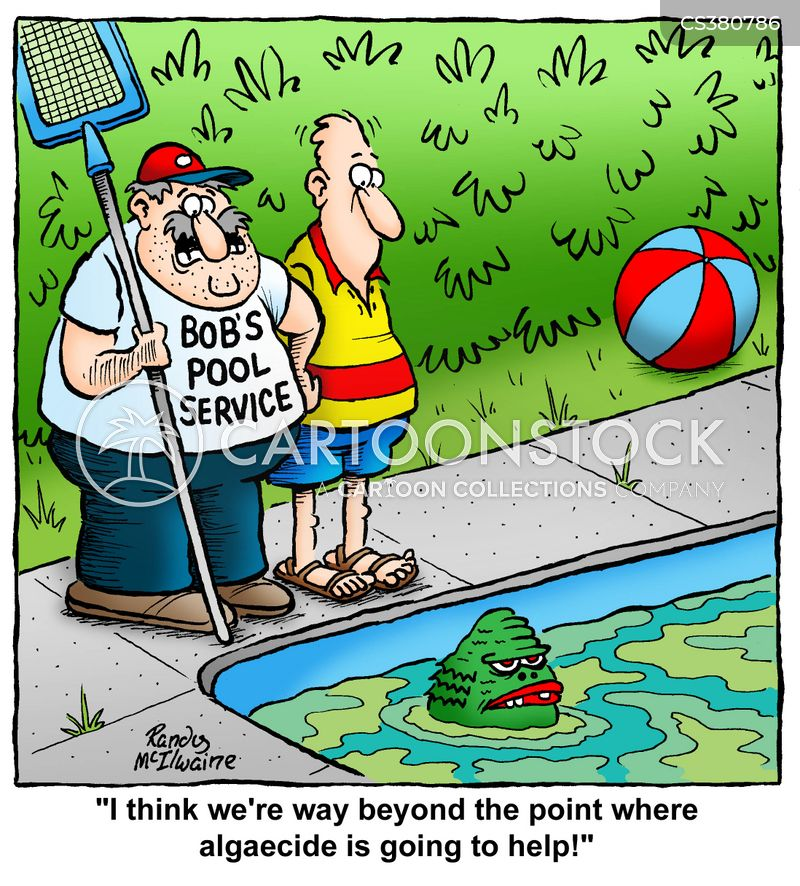 Pool Maintenance Cartoons And Comics Funny Pictures From