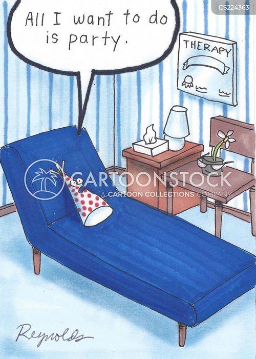 partied cartoon