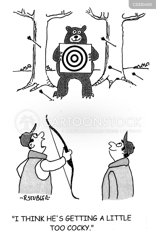 cockiness cartoon