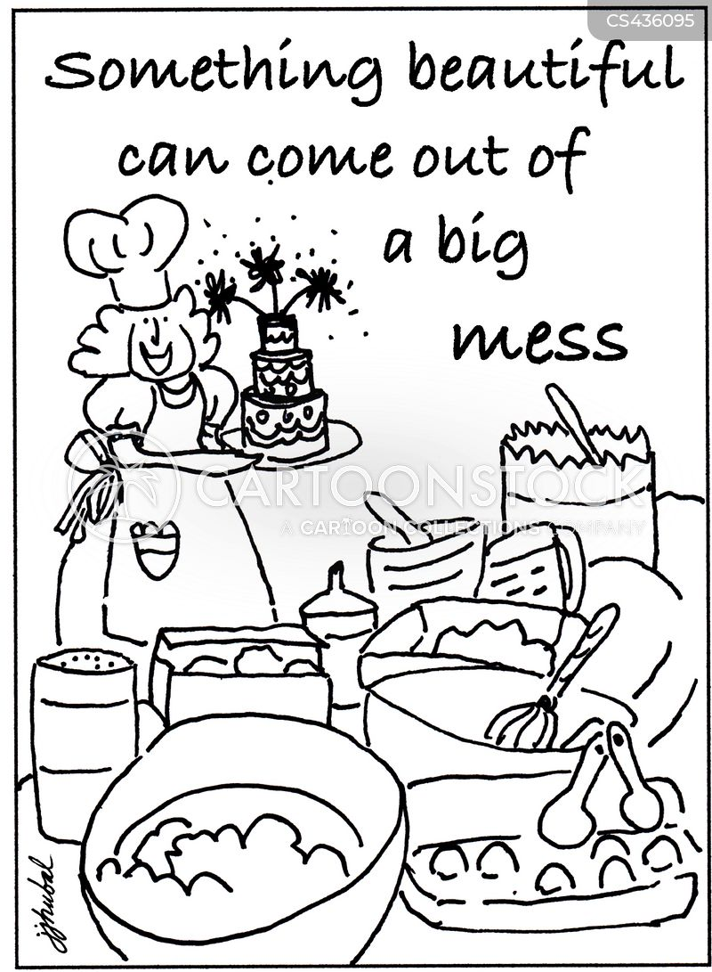 Baking Supplies Cartoon 3 Of 5