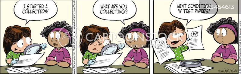 good student cartoon