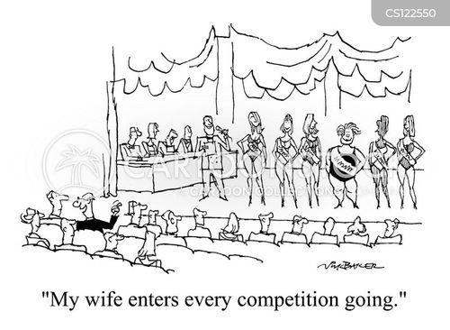 beauty parade cartoon