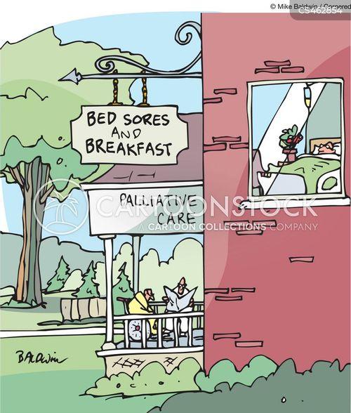 hospices cartoon